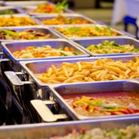 Warm buffet buffetten warme